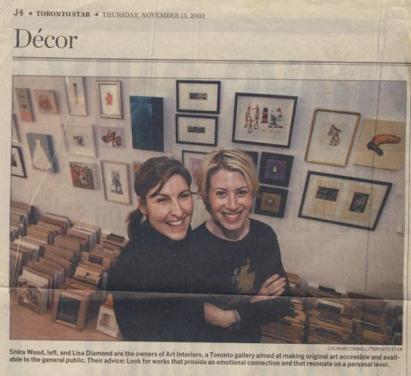 Toronto Star - Choosing original art is an emotional investment