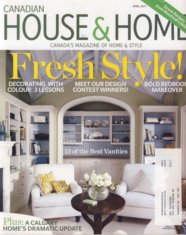 House & Home April 2011