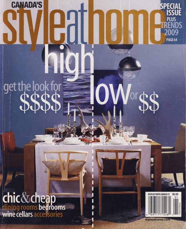 Style at Home High Low 2009