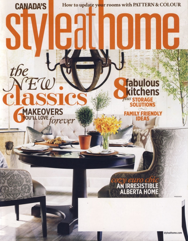 Style at Home October 2011