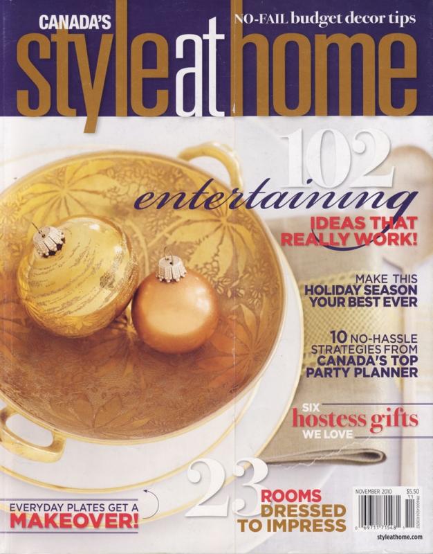 Style at Home November 2010