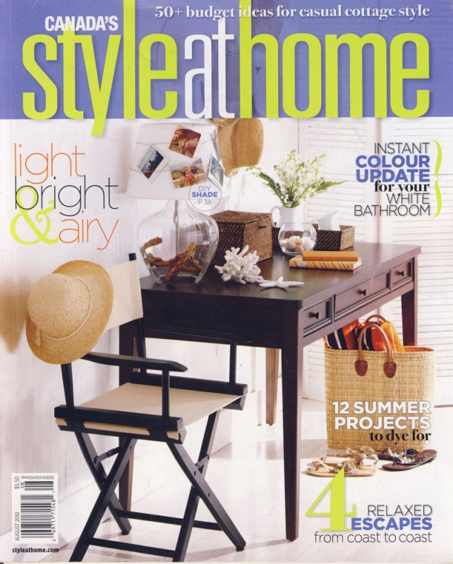 Style at Home August 2010