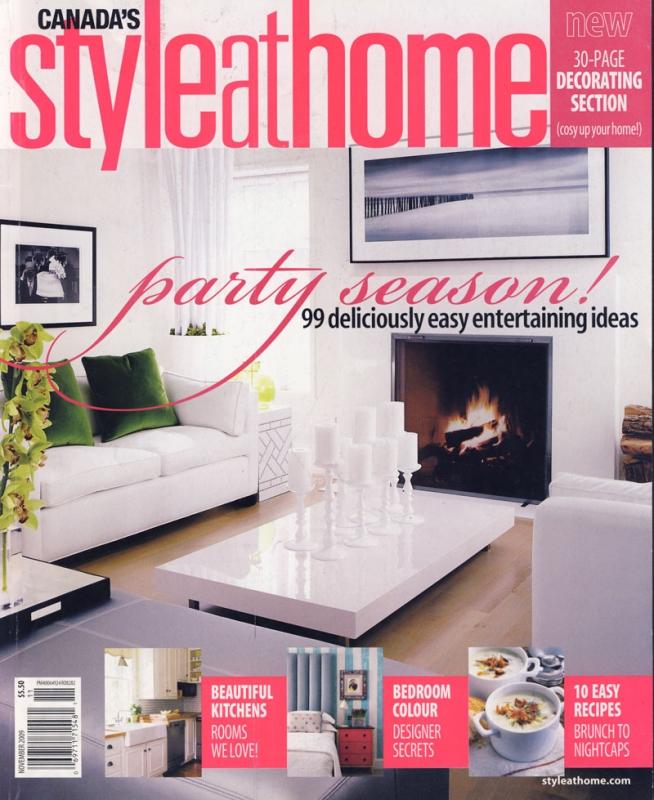 Style at Home November 2009