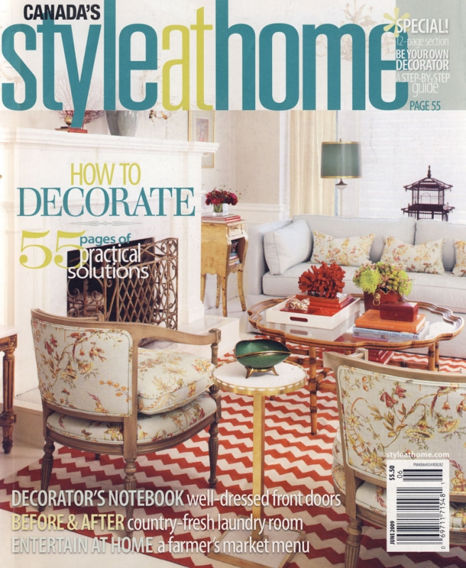 Style at Home June 2009