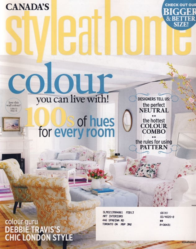 Style at Home April 2012