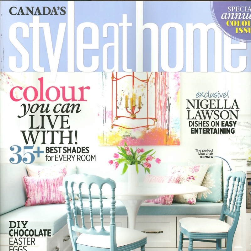 Style at Home April 2013