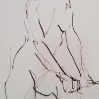 Mel Delija - Nude Turning