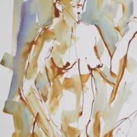 Mel Delija - Standing Nude #1