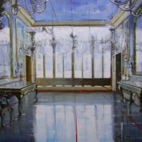 Hanna Ruminski - Salon with Murano Glass