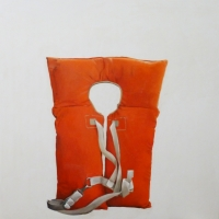 Erin Vincent - Vintage Orange Vest