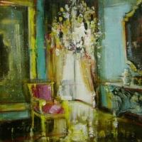 Hanna Ruminski - Room with Magenta Chair