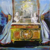 Hanna Ruminski - Commode with two Busts
