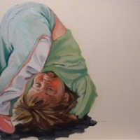 Jennifer Wigmore - Somersault Teal Pants