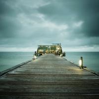 David Ellingsen - The Gulf of Mexico #33, Rod + Reel Pier