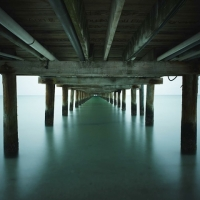 David Ellingsen - The Gulf of Mexico #17, City Pier