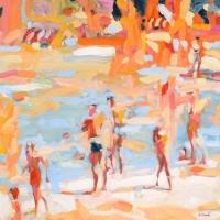 Elizabeth Lennie - Poolside in Cuba