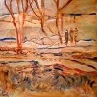 Susan McLean Woodburn - Spring Thaw - The Ravine