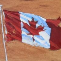 Jessica Masters - Canadian Flag I