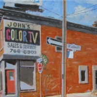 Michael Harris - John's Color TV, The Junction Toronto