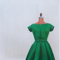 Erin Vincent - Vintage Green Party Dress