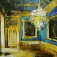 Hanna Ruminski - Blue Drawing Room