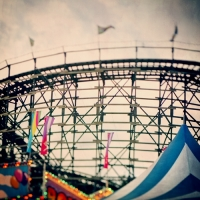 Angela Cameron - Carnival Coaster #2