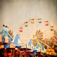 Angela Cameron - Carnival Ferris Wheel #3
