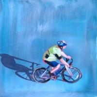 Sara Caracristi - Blue Bike