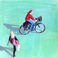 Sara Caracristi - Girl on Bike