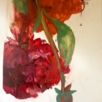 Madeleine Lamont - Smalls 2013 - Floral on Mylar