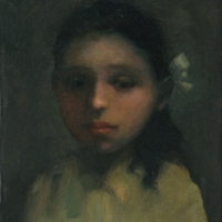 J. T. Winik - Young Girl with Bow