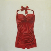 Erin Vincent - Red One-Piece