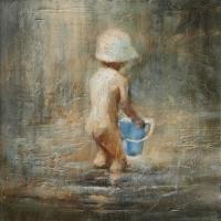 Elzbieta Krawecka - Blue Bucket #1