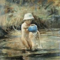 Elzbieta Krawecka - Blue Bucket #2