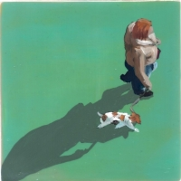Sara Caracristi - Lady and Dog