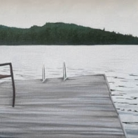 Emily Bickell - The Dock (Lake Vernon)