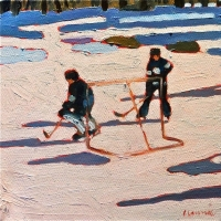 Elizabeth Lennie - Pond Hockey 27