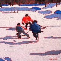 Elizabeth Lennie - Pond Hockey 28