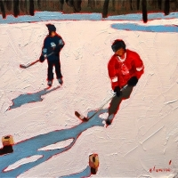 Elizabeth Lennie - Pond Hockey 29