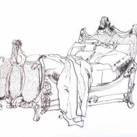Jennifer Wardle - Carved Bed
