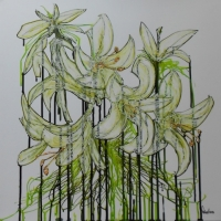 Francisco Gomez - Floral Green 1