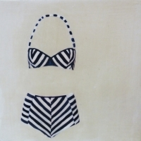 Erin Vincent - Striped 2 Piece 2012