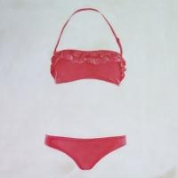 Erin Vincent - Pink Frill Bikini