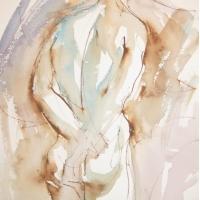 Mel Delija - Back of Male Nude