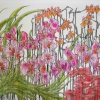 Francisco Gomez - Large Floral #1