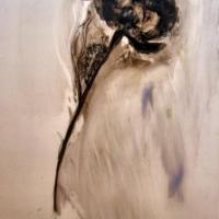 Madeleine Lamont - Flowers on Mylar 3F