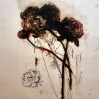 Madeleine Lamont - Flowers on Mylar 3D
