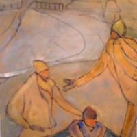 Susan McLean Woodburn - Skaters Three