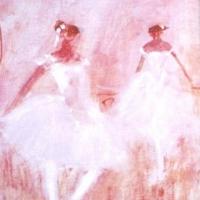 Susan McLean Woodburn - Delicate Dancers In Pink