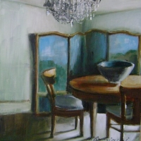 Hanna Ruminski - Interior with Large Bowl